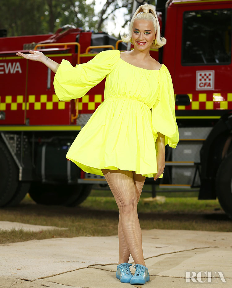 Katy Perry Wore Valentino To The Fight On Concert For Firefighters And Bushfire Victims
