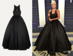 Lady Gaga Brandon Maxwell Cutout Gown