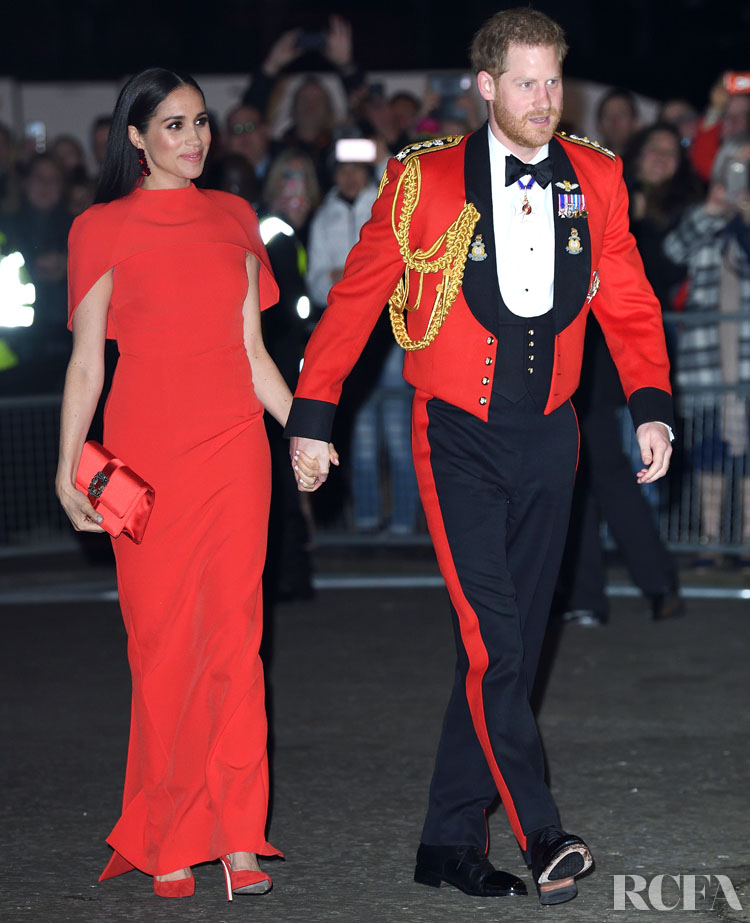 Meghan, Duchess of Sussex Wore Safiyaa To The Mountbatten Music Festival