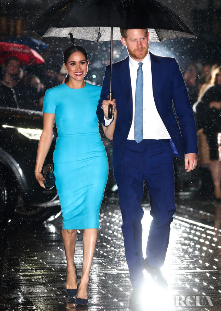 Meghan, Duchess of Sussex Wore Victoria Beckham To The Endeavour Fund Awards