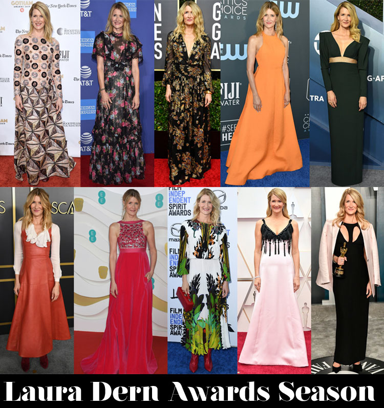 Which Was Your Favourite Laura Dern Awards Season Look?