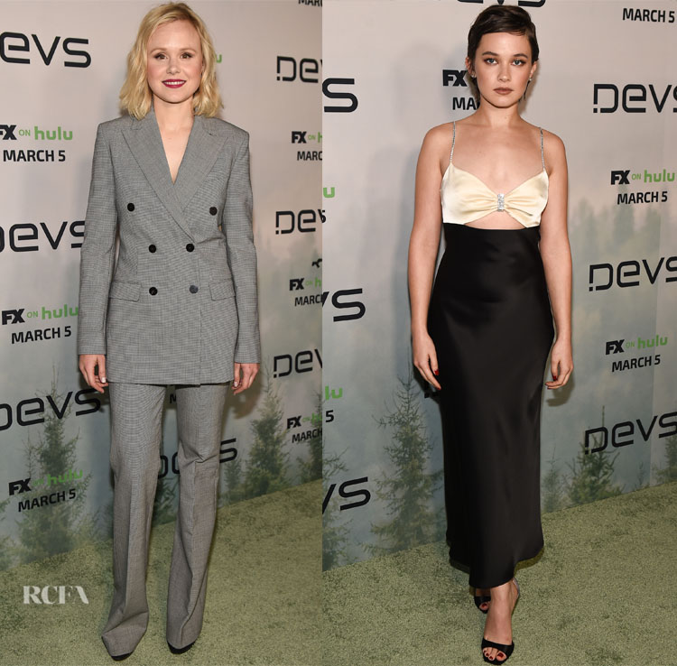 LA Premiere Of FX's 'Devs' With Alison Pill & Cailee Spaeny