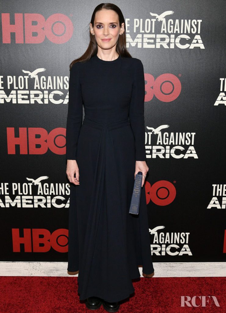 Winona Ryder Dior Haute Couture  - 'The Plot Against America' New York Premiere