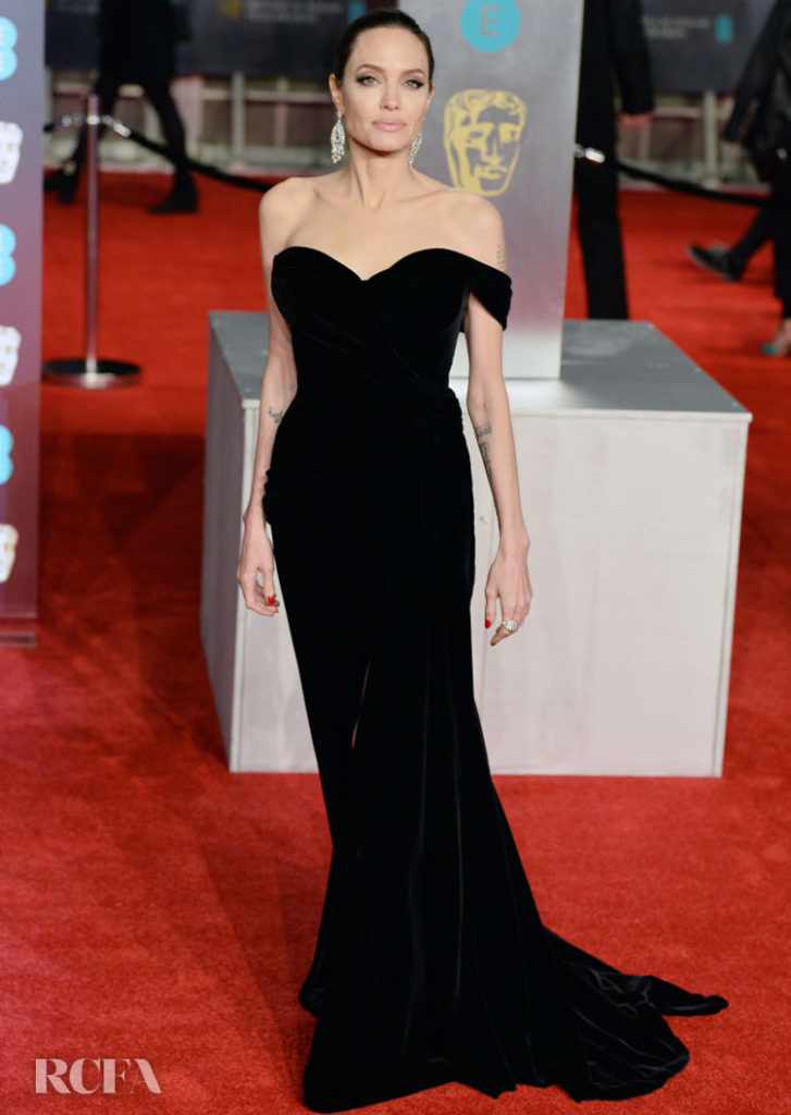 Angelina Jolie In Ralph & Russo Couture – 2018 BAFTAs