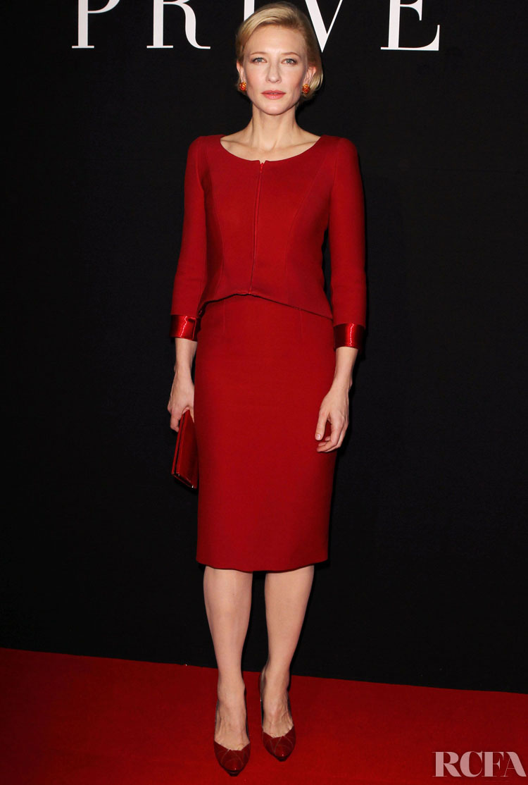 Cate Blanchett's Top 10 Red Carpet Moments In Armani Privé Since 2010