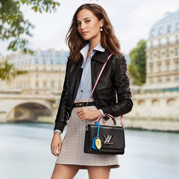 Alicia Vikander In Louis Vuitton's New Accessories Campaign
