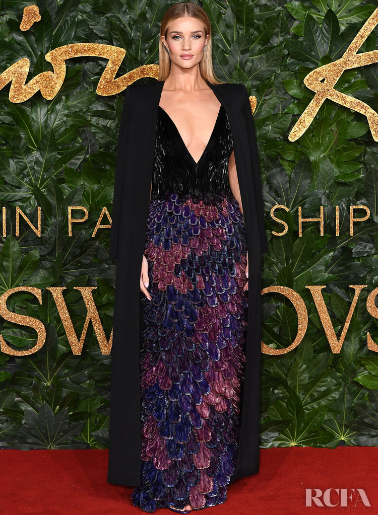 Clare Waight Keller's Most Memorable Moments For Givenchy - Rosie Huntington Whiteley In Givenchy Haute Couture – The Fashion Awards 2018