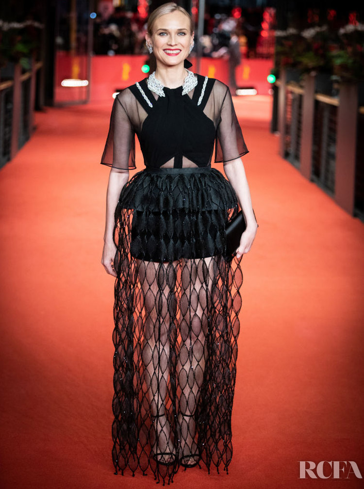 Diane Kruger In Givenchy Haute Couture  – 'The Operative' Berlinale Film Festival Premiere