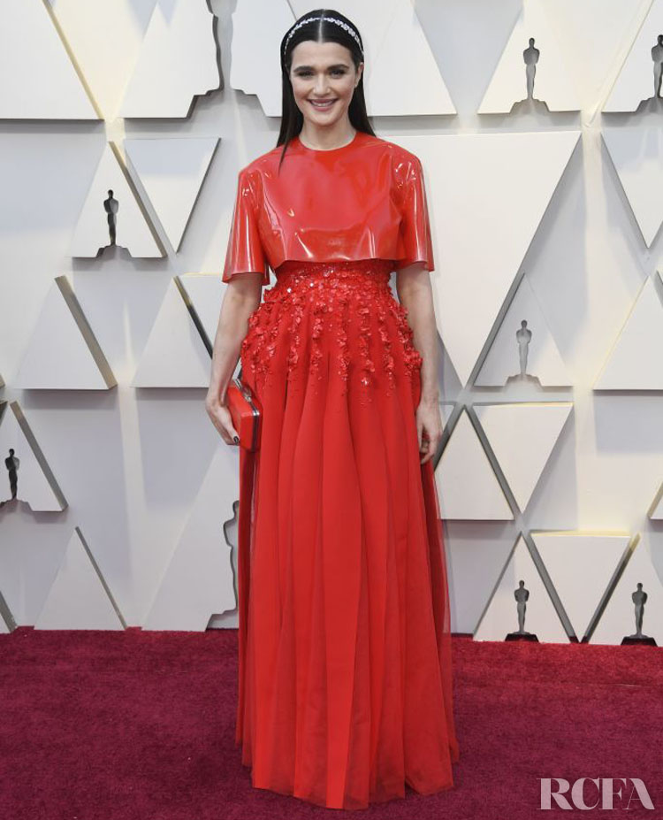 Clare Waight Keller's Most Memorable Moments For Givenchy - Rachel Weisz In Givenchy Haute Couture – 2019 Oscars