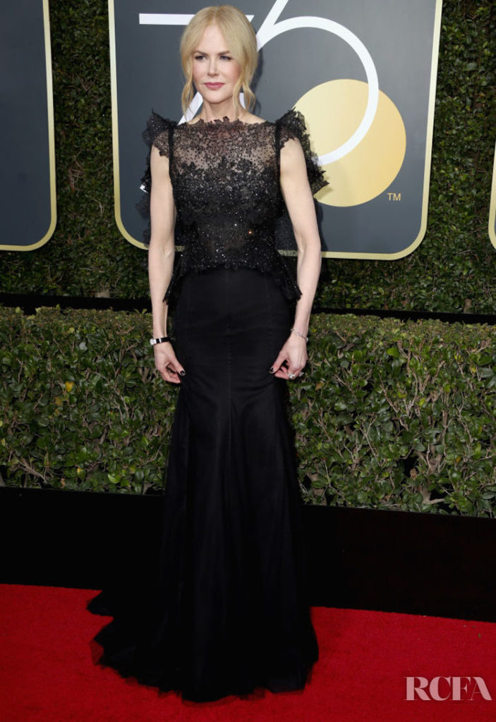 Nicole Kidman In Givenchy Couture – 2018 Golden Globe Awards