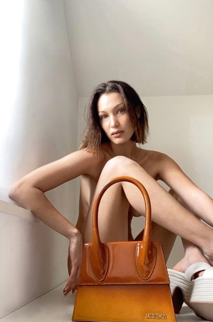 Bella Hadid Jacquemus Spring 2020 Campaign Was Shot Via FaceTime