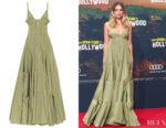 Margot Robbie's Jacquemus La Robe Manosque Maxi Dress