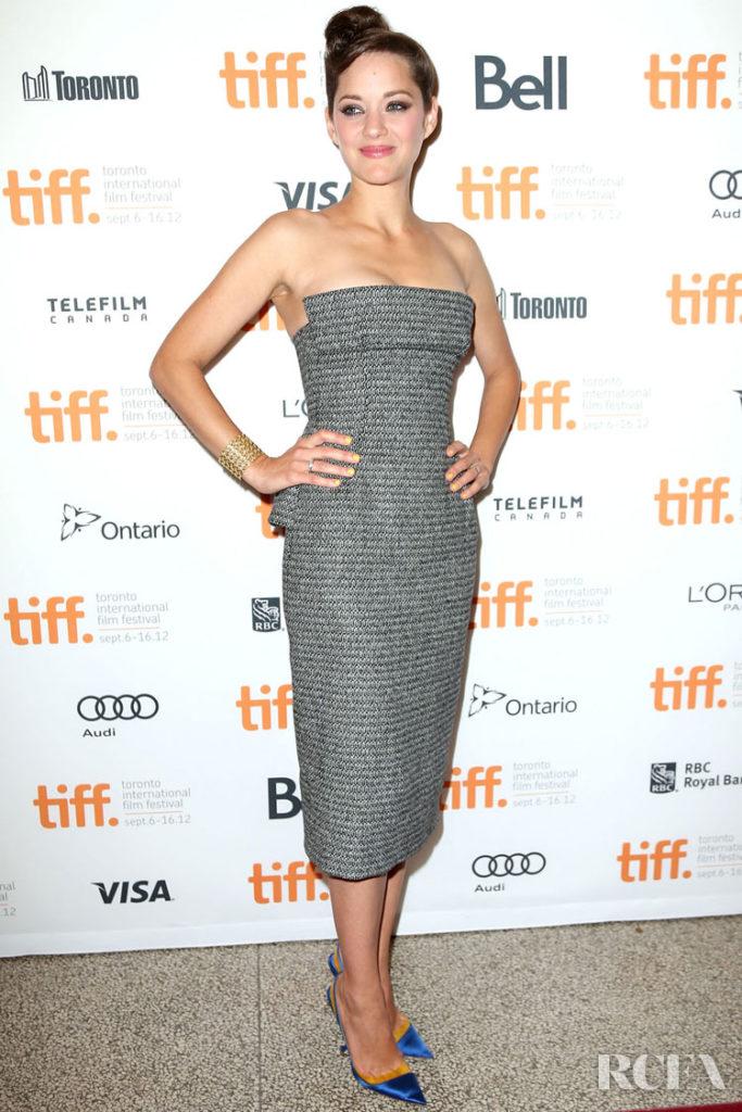 Marion Cotillard In Christian Dior Couture – 'Rust & Bone' Toronto Film Festival Premiere