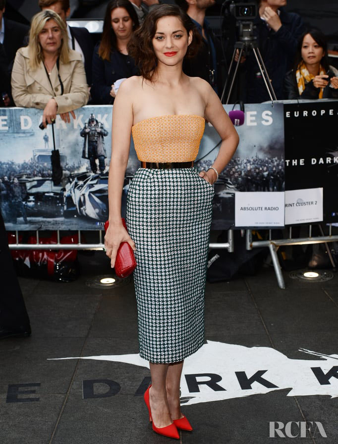 Marion Cotillard In Christian Dior Couture – 'The Dark Knight Rises' London Premiere