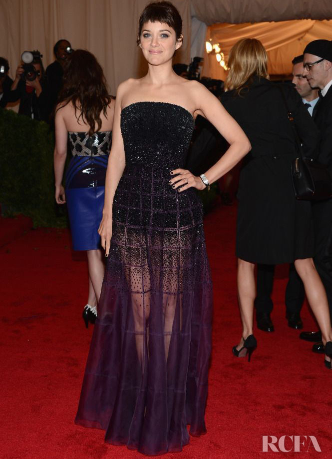 Marion Cotillard In Christian Dior Couture – 2012 Met Gala