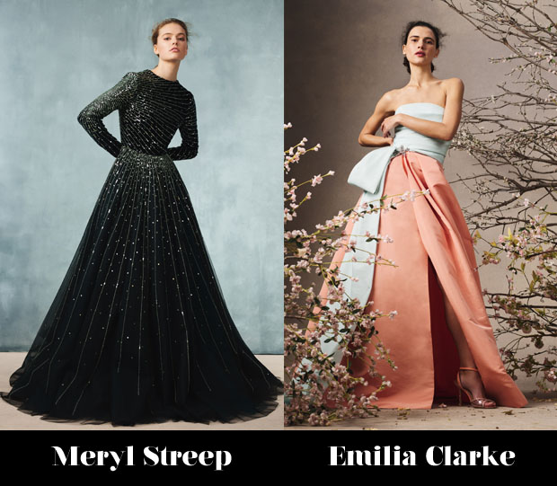 Monique Lhuillier Fall 2020 Red Carpet Wish List