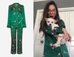 Olivia Munn's Chinti and Parker Star Print Pyjama Set