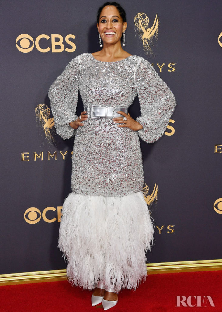 Tracee Ellis Ross In Chanel Haute Couture – 2017 Emmy Awards