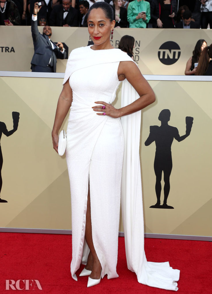 Tracee Ellis Ross In Ralph & Russo Couture – 2018 SAG Awards