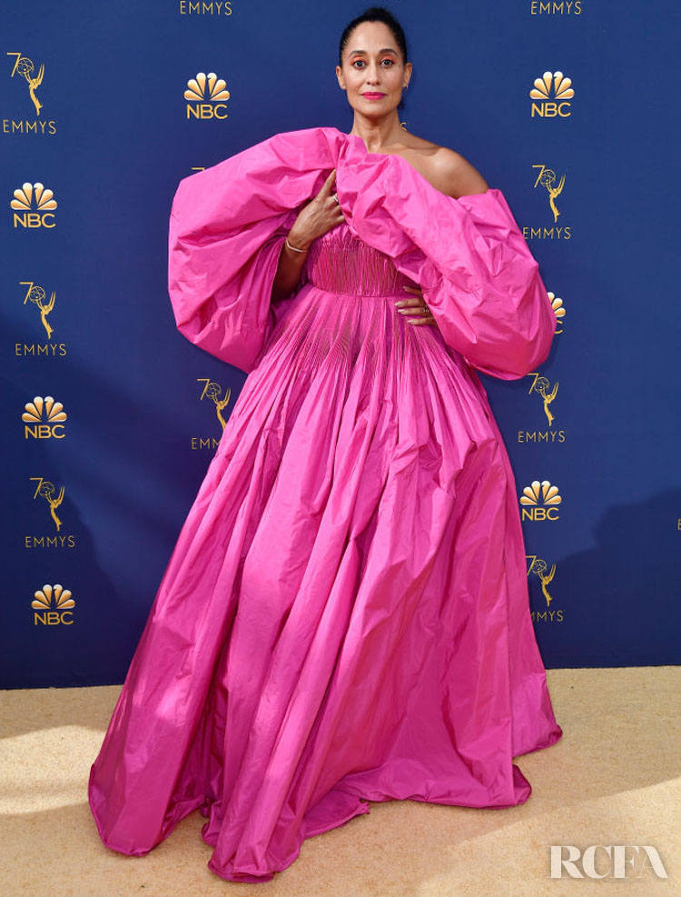 Tracee Ellis Ross In Valentino Haute Couture – 2018 Emmy Awards