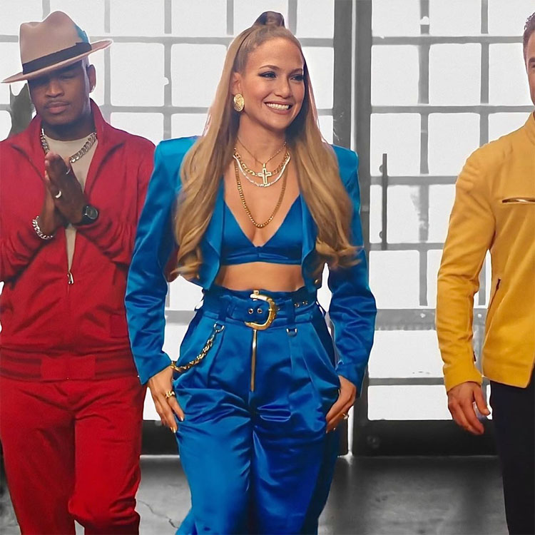 Jennifer Lopez Wore Michael NGO For The World Of Dance Season 4 Promo