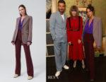 Victoria Beckham's Victoria Beckham Jacket, Blouse & Trousers