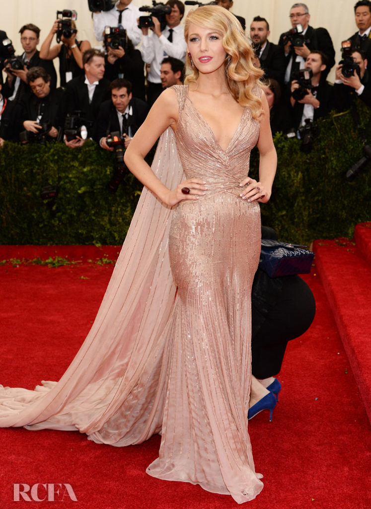 Blake Lively In Gucci Première – 2014 Met Gala