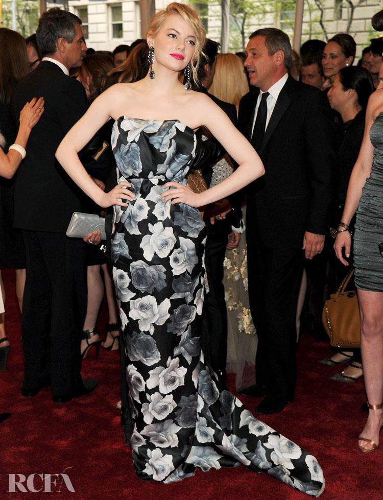 Emma Stone in Lanvin - 2011 Met Gala