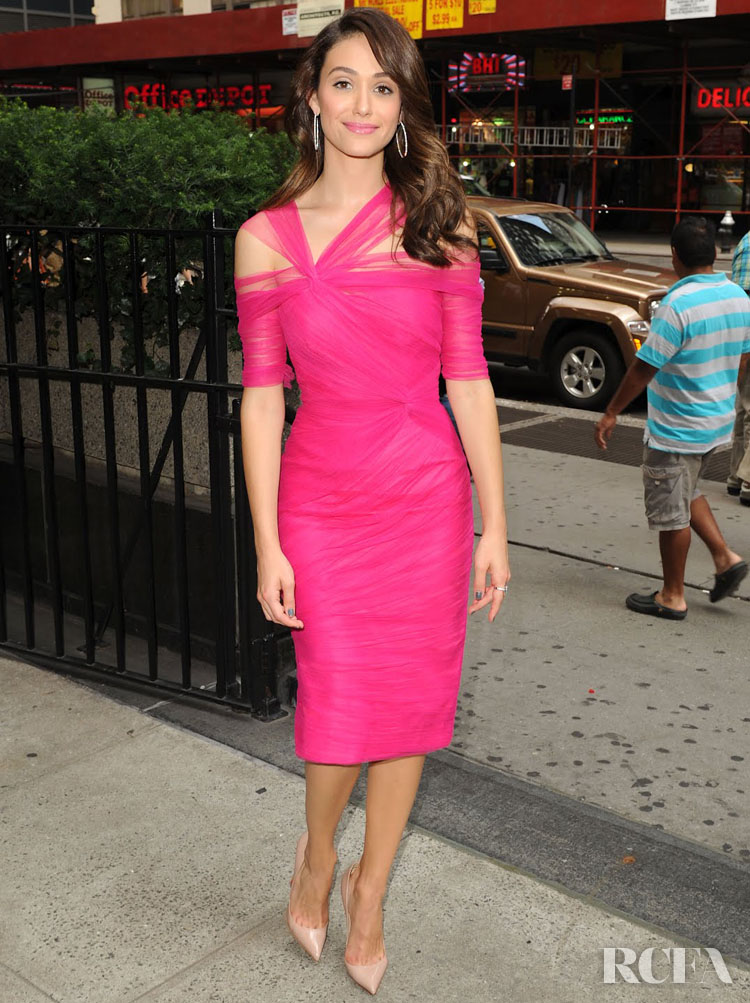 Emmy Rossum's Top 10 Red Carpet Looks