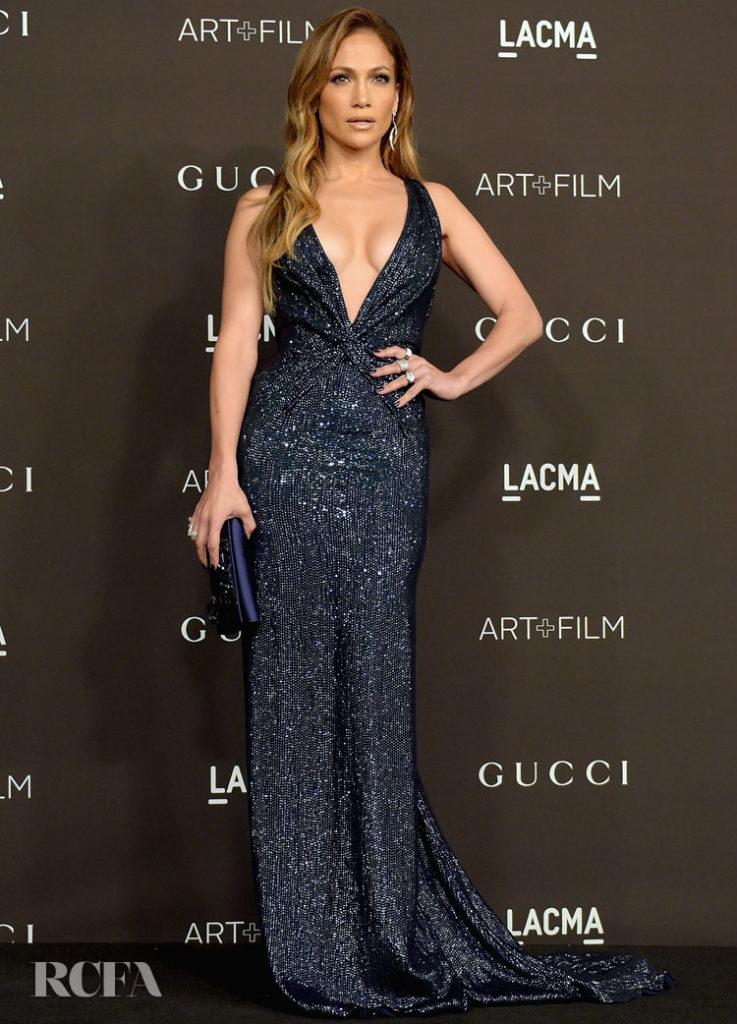 Jennifer Lopez In Gucci Première – 2014 LACMA Art + Film Gala