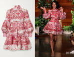 Kerry Washington's Zimmermann Wavelength Print Dress