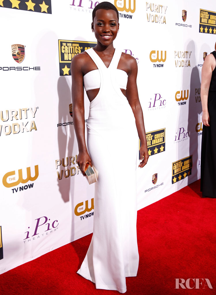 Lupita Nyong'o In Calvin Klein Collection – 2014 Critics' Choice Movie Awards