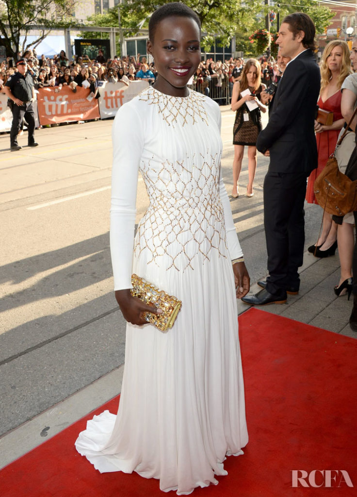 Lupita Nyong'o In Prada – '12 Years A Slave' Toronto Film Festival Premiere - 2013