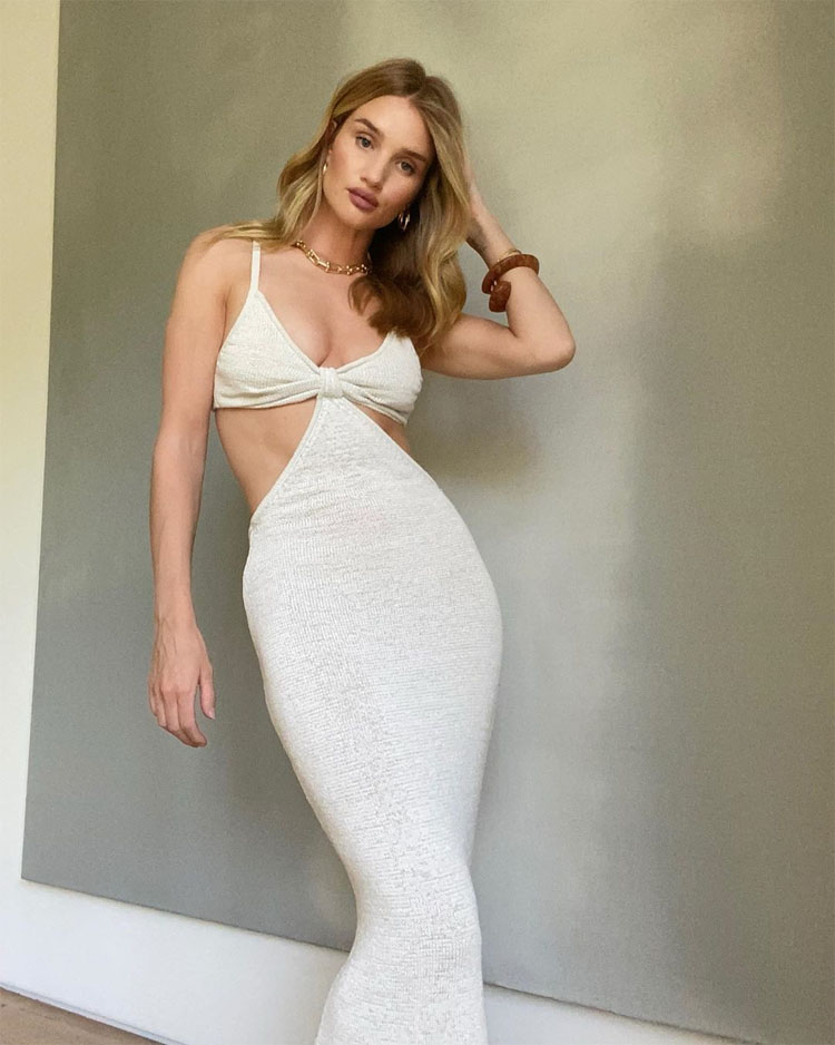 Rosie Huntington-Whiteley Wore Cult Gaia