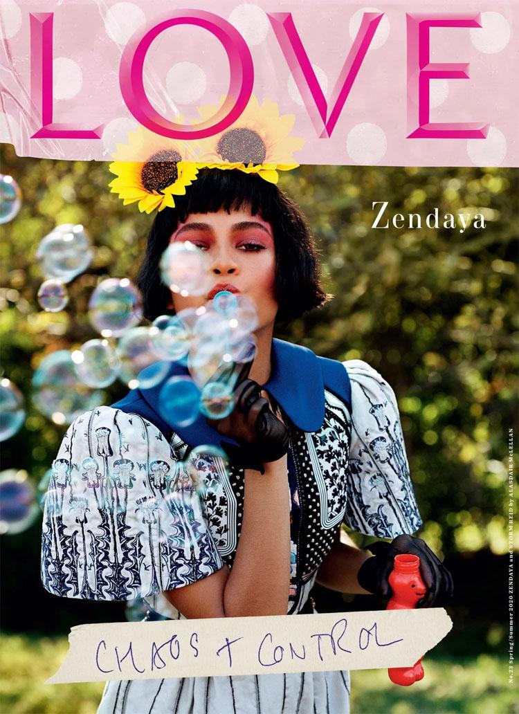 Zendaya & Storm Reid For LOVE's 23rd Issue