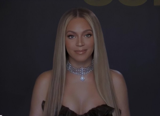 Beyonce Wore Alessandra Rich For The 2020 BET Awards
