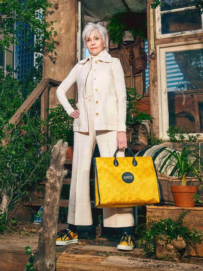Jane Fonda & Lil Nas X star Star In The Gucci 'Off the Grid' Campaign