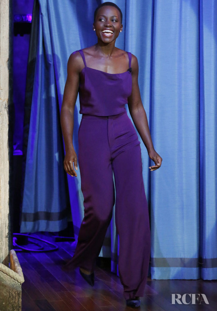 Lupita Nyong'o In Cushnie Et Ochs – Late Night with Jimmy Fallon