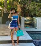 Cardi B Rocks Chanel Surf Line On Instagram