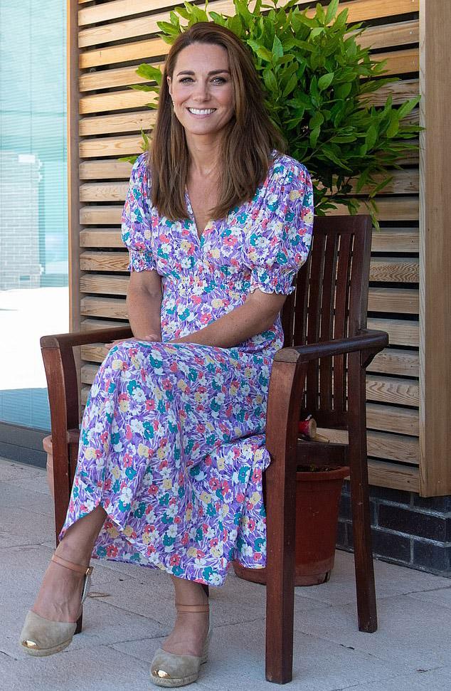 Catherine, Duchess of Cambridge Wore Faithfull The Brand To The Nook Visit