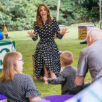 Catherine, Duchess of Cambridge's Love For Polka Dots Continues In Emilia Wickstead
