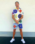 Cristiano Ronaldo's Summery Louis Vuitton Monogram Look