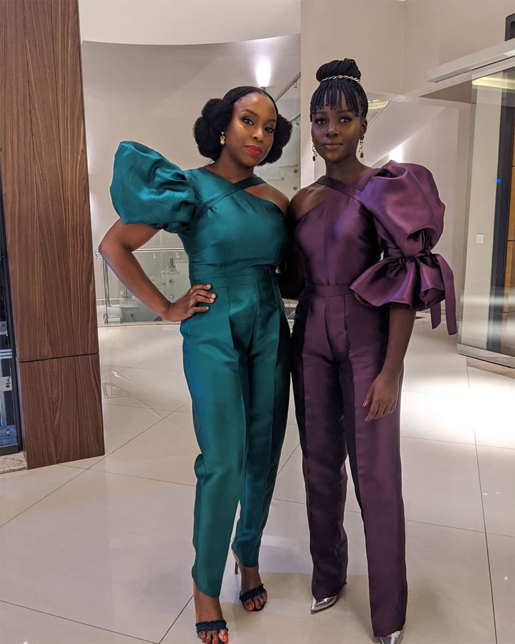 Lupita Nyong'o Wore Imad Eduso Celebrating Her 37th Birthday