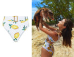 Olivia Culpo's Alexandra Miro  Clara High-Rise Bikini Bottoms