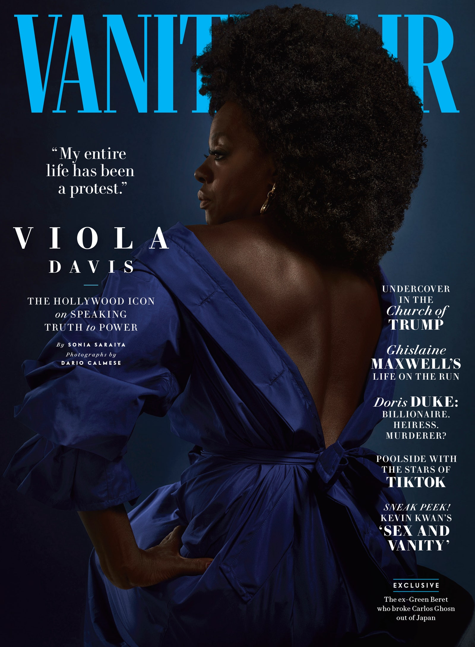 Viola Davis For Vanity Fair July/August 2020