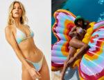 Vanessa Hudgens' Frankies Bikinis Nicola Tie Dye Bikini