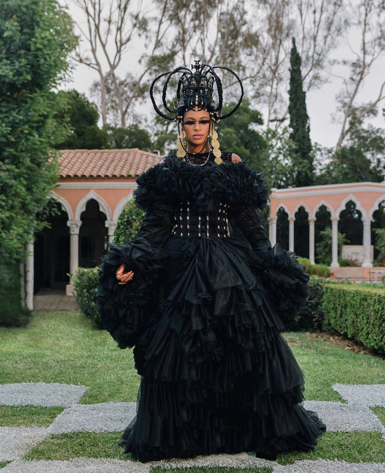 beyonce Simon-Hartman London black is king