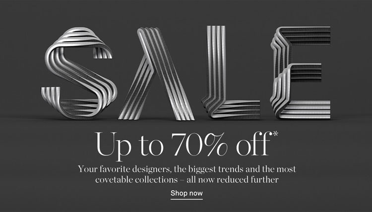 Get Up To 70% Off In The NET-A-PORTER SALE