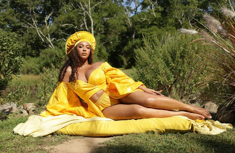 Beyonce Adam Paris Black Is King