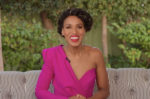Kerry Washington Hosts Jimmy Kimmel Live! In Greta Constantine